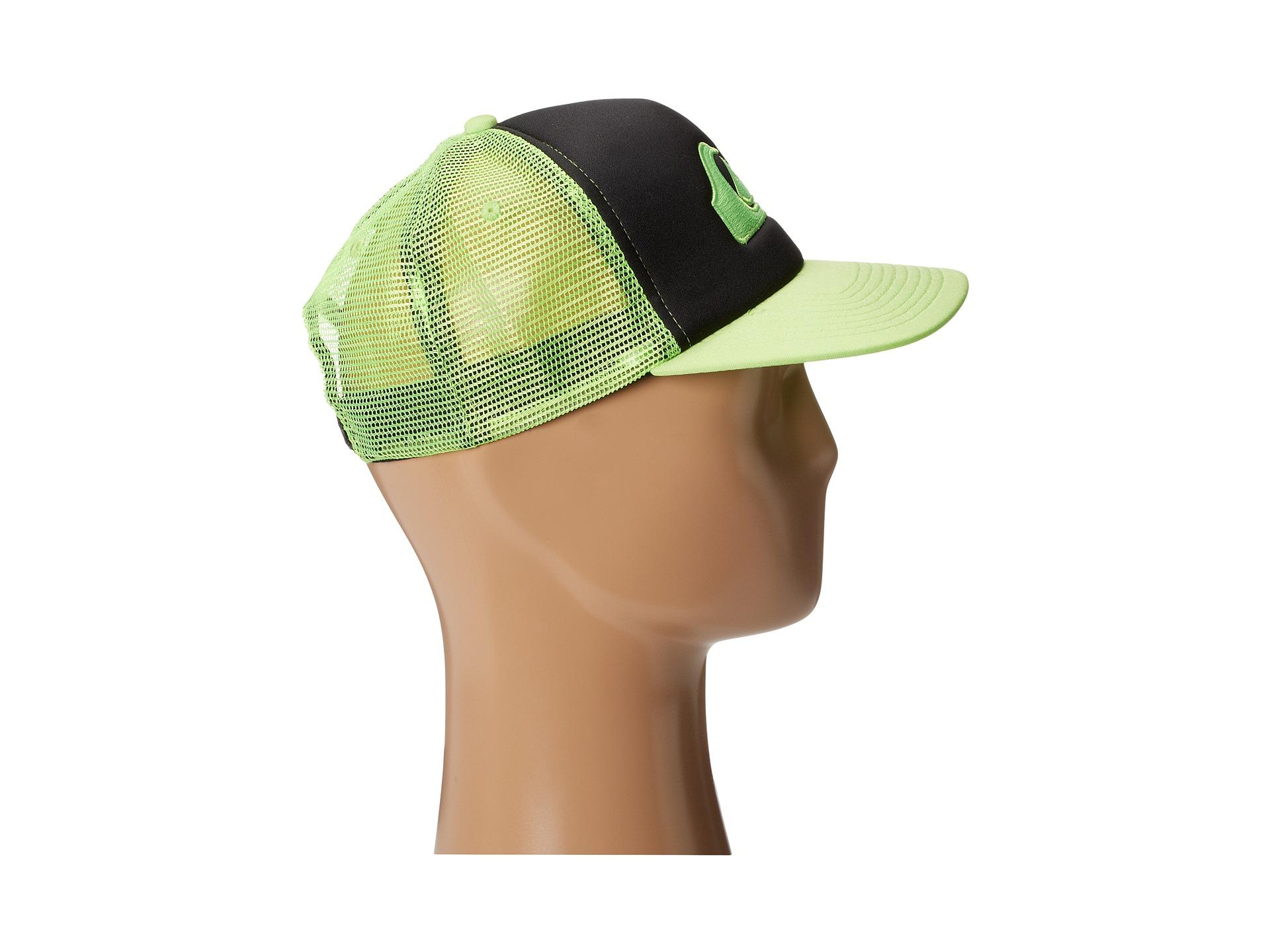 de324d96 Quiksilver Keeper Trucker Hat in Green for Men - Lyst