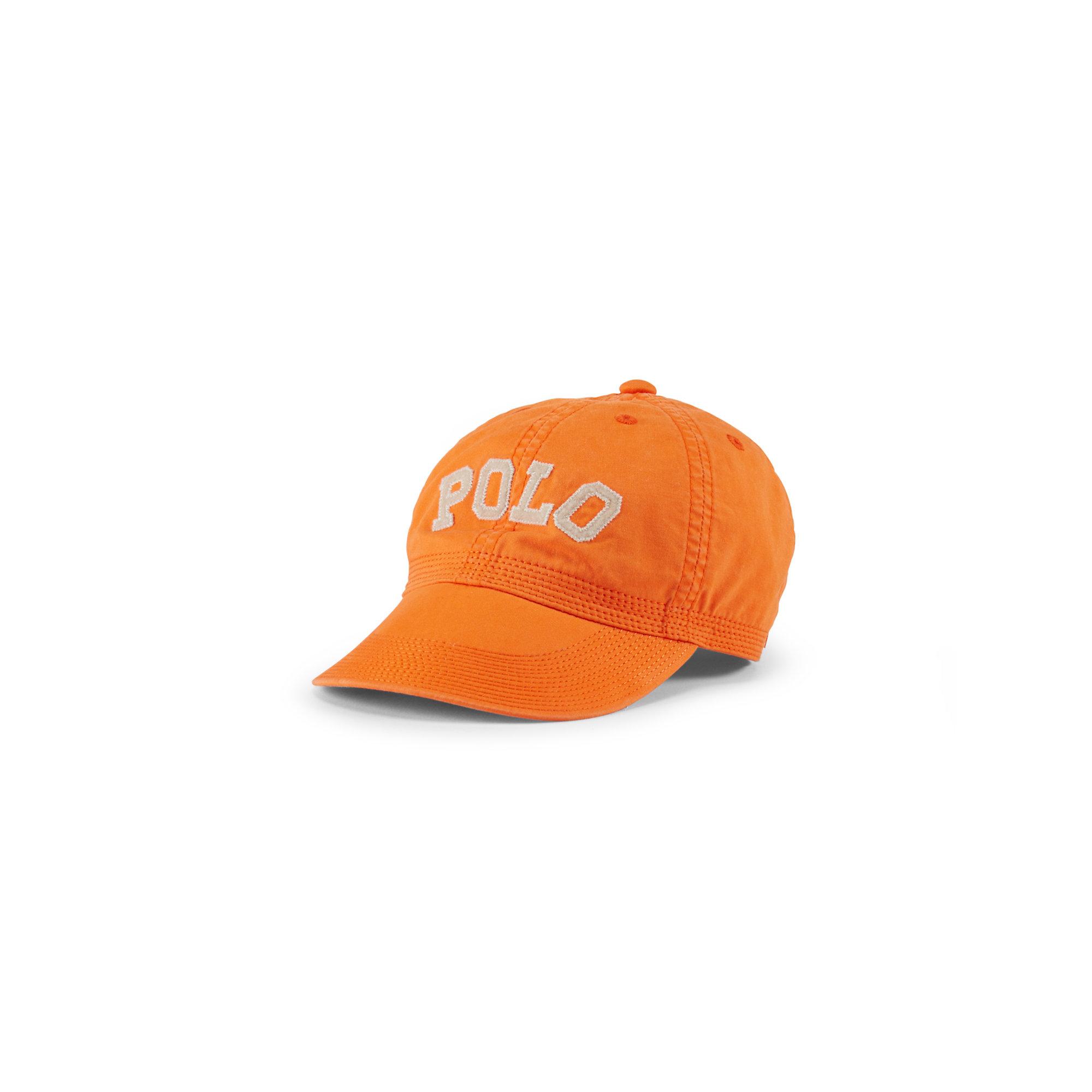 ralph river baseball hat in orange for lyst