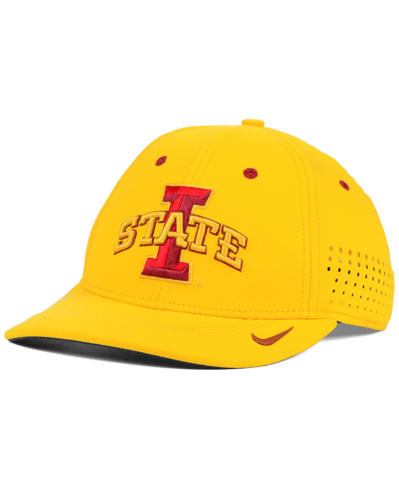 save off 2bad8 b3148 Lyst - Nike Iowa State Cyclones Sideline Cap in Yellow for Men