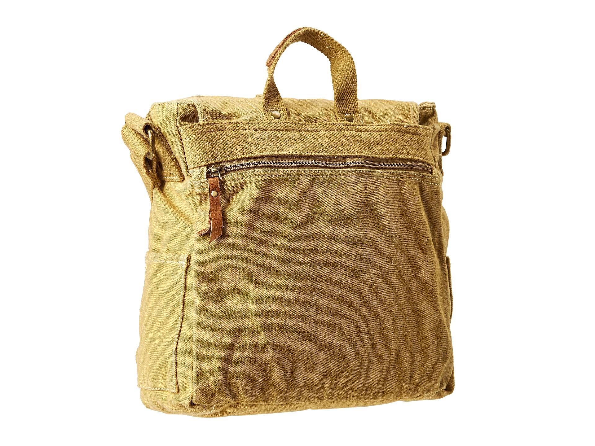 bed stu bunker shoulder bag in brown for men tan lyst. Black Bedroom Furniture Sets. Home Design Ideas
