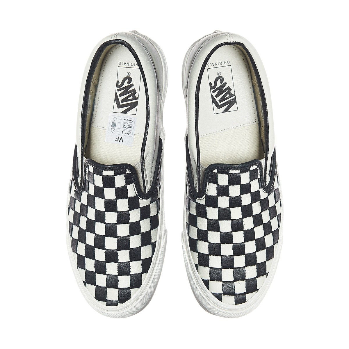 d65fcb1510 Lyst - Vans Og Classic Slip-on Lx 50th Checkerboard Anniversary ...