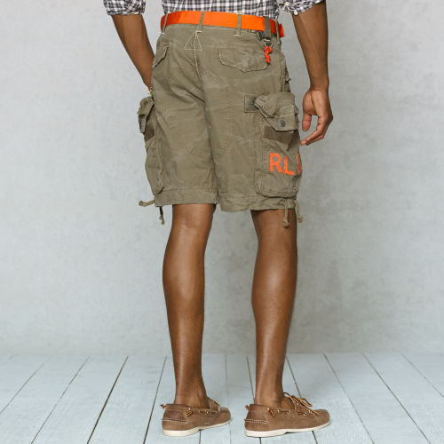 c3373a13c4f Lyst - Polo Ralph Lauren Classicfit Canyon Cargo Short in Natural ...