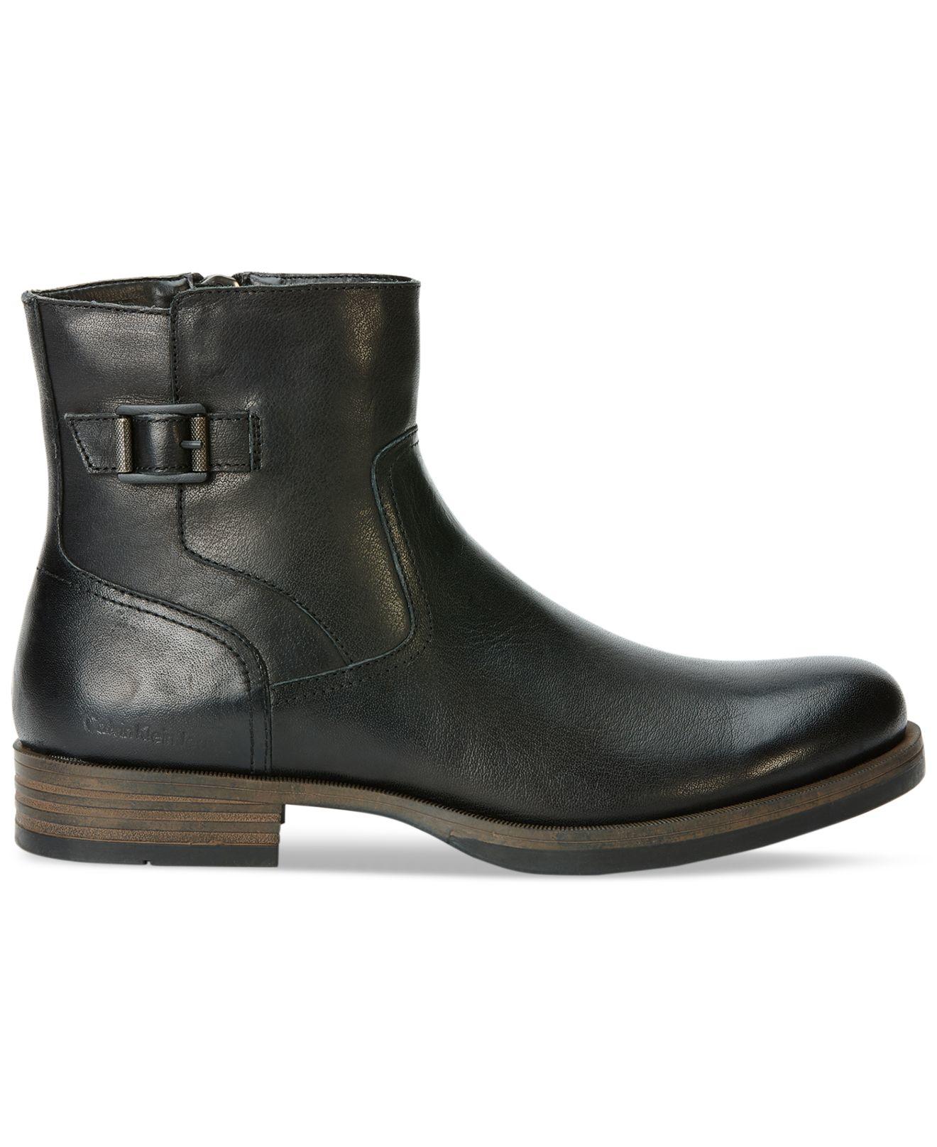 Calvin klein jeans Calving Klein Jeans Helix Chelsea Boots ...