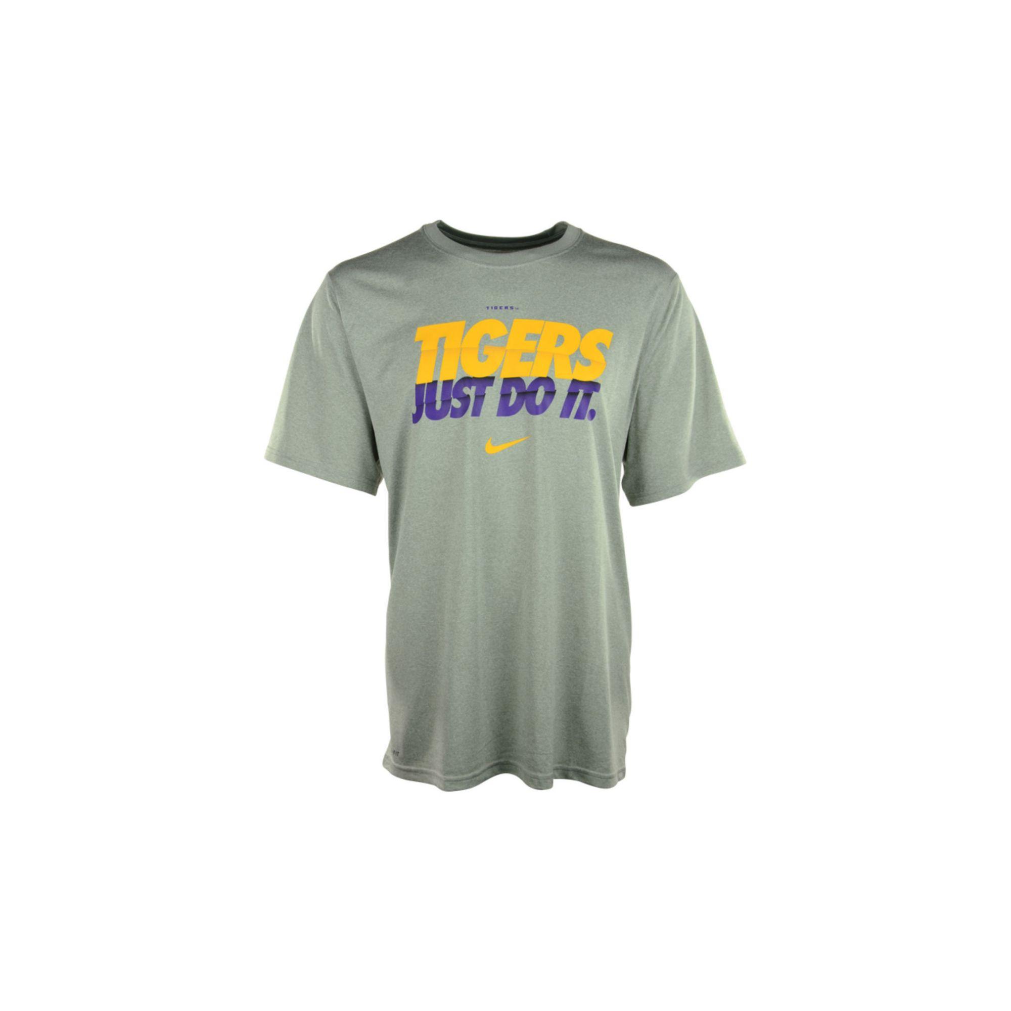 Lyst - Nike Mens Lsu Tigers Speed Jdi Legend Drifit Tshirt in Gray ... 59ce6aace