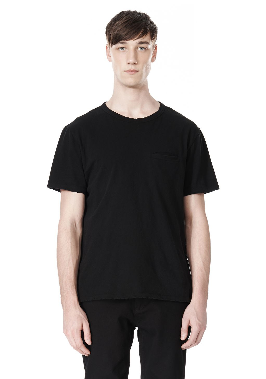The range of Alexander Wang T-shirts includes classic crew neck cotton tees, stylish sleeveless tops and linen and cotton blend long sleeve T-shirts. There is a wide selection of Alexander Wang T-shirt designs showcased at the Stylight site.