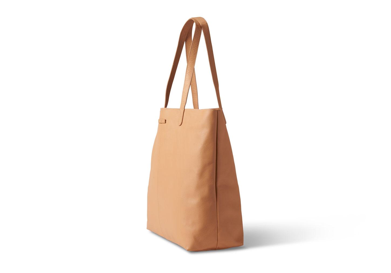 1a39b608e6c TOMS Vachetta Leather Cosmopolitan Tote in Brown - Lyst