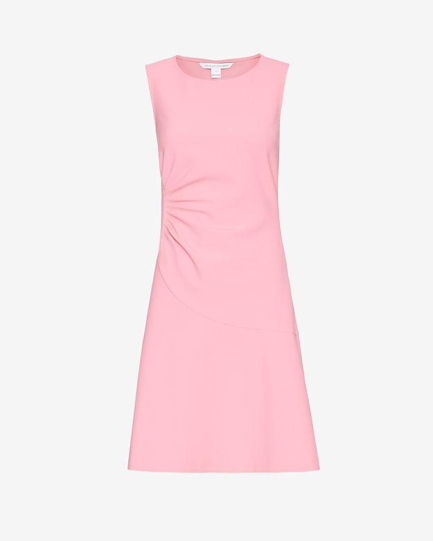 Diane von furstenberg Dayna Flare Dress in Pink - Lyst