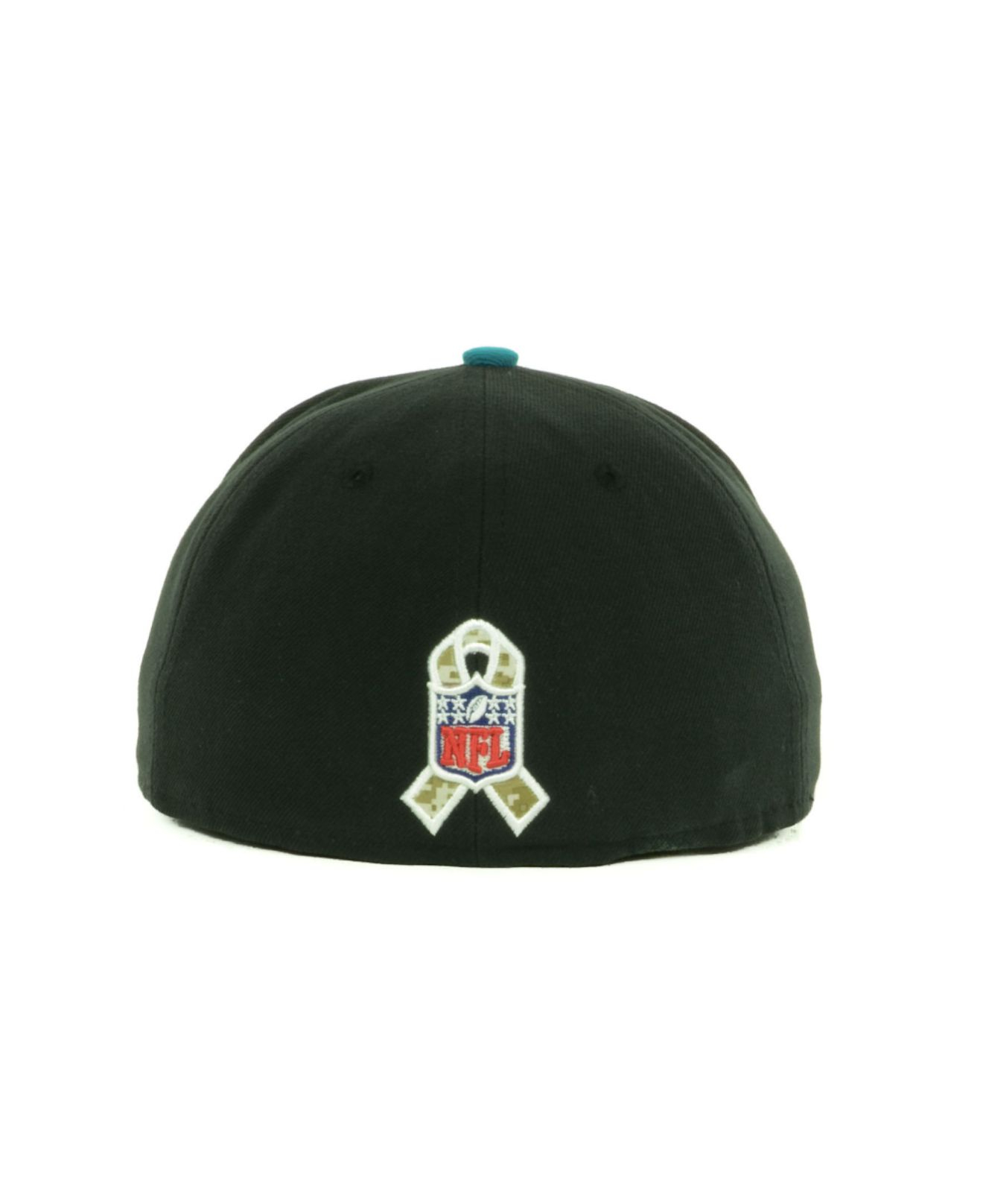 Lyst - KTZ Jacksonville Jaguars Salute To Service On Field 59Fifty ... 267672811