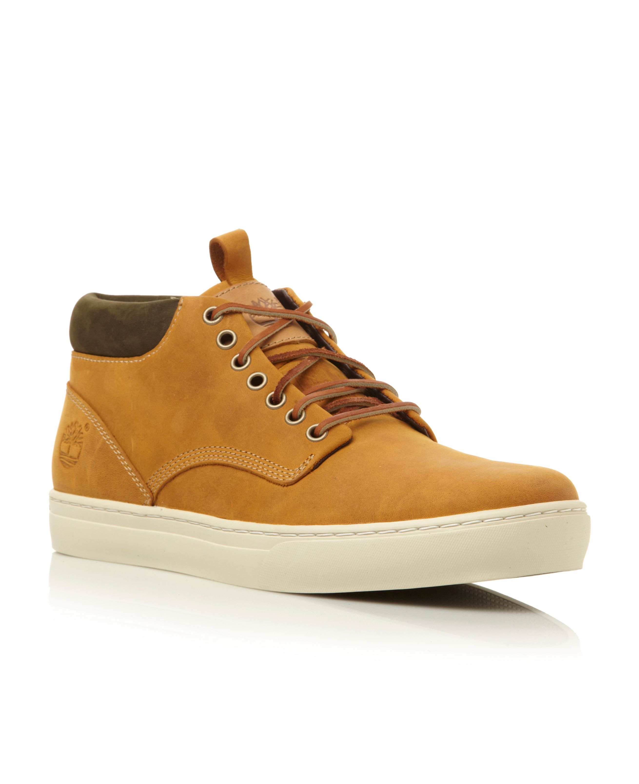 Timberland Lace Up Cup... Versace Sneakers Men