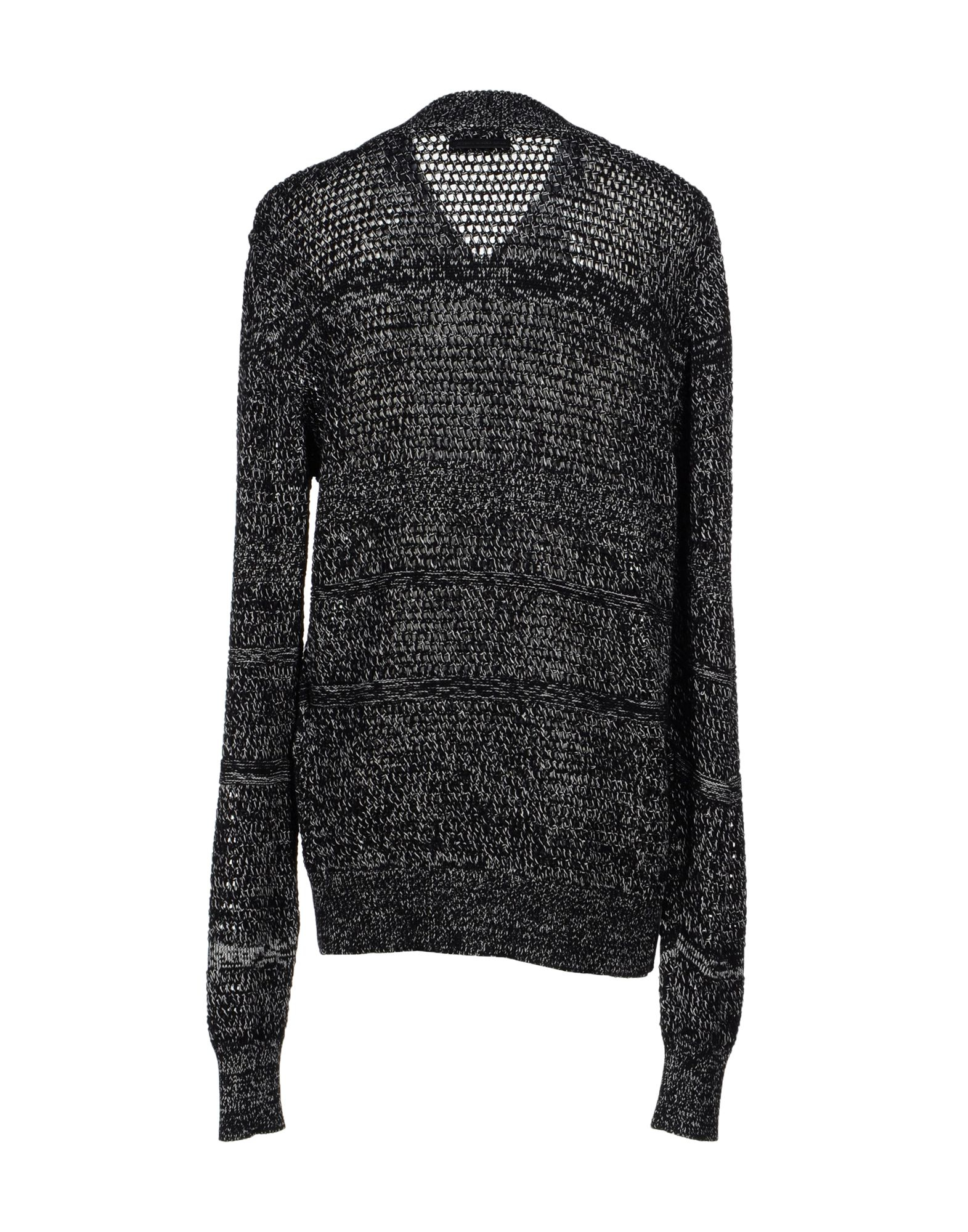 Diesel black gold Kopkop Cardigan in Black for Men | Lyst