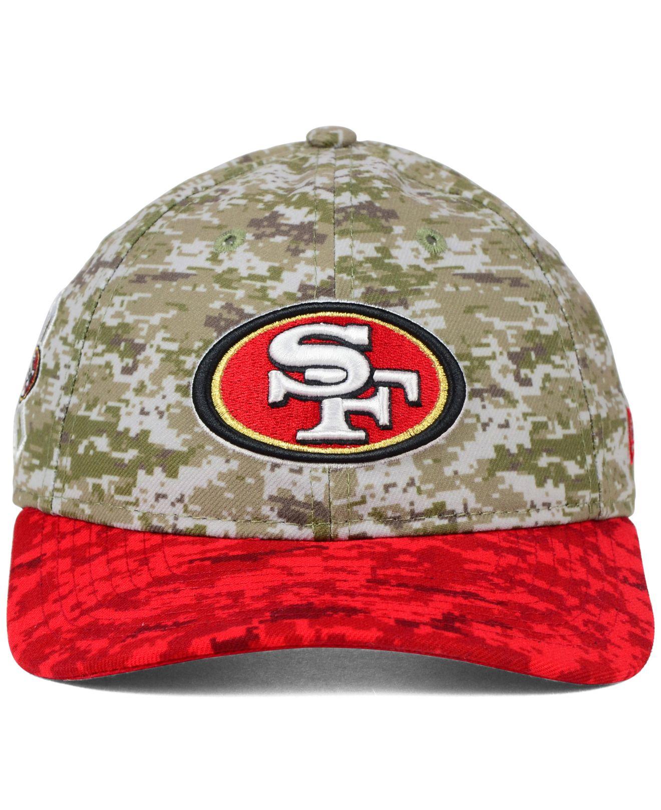 9d0532b04 Lyst - KTZ Women s San Francisco 49ers Salute To Service 9twenty Cap ...