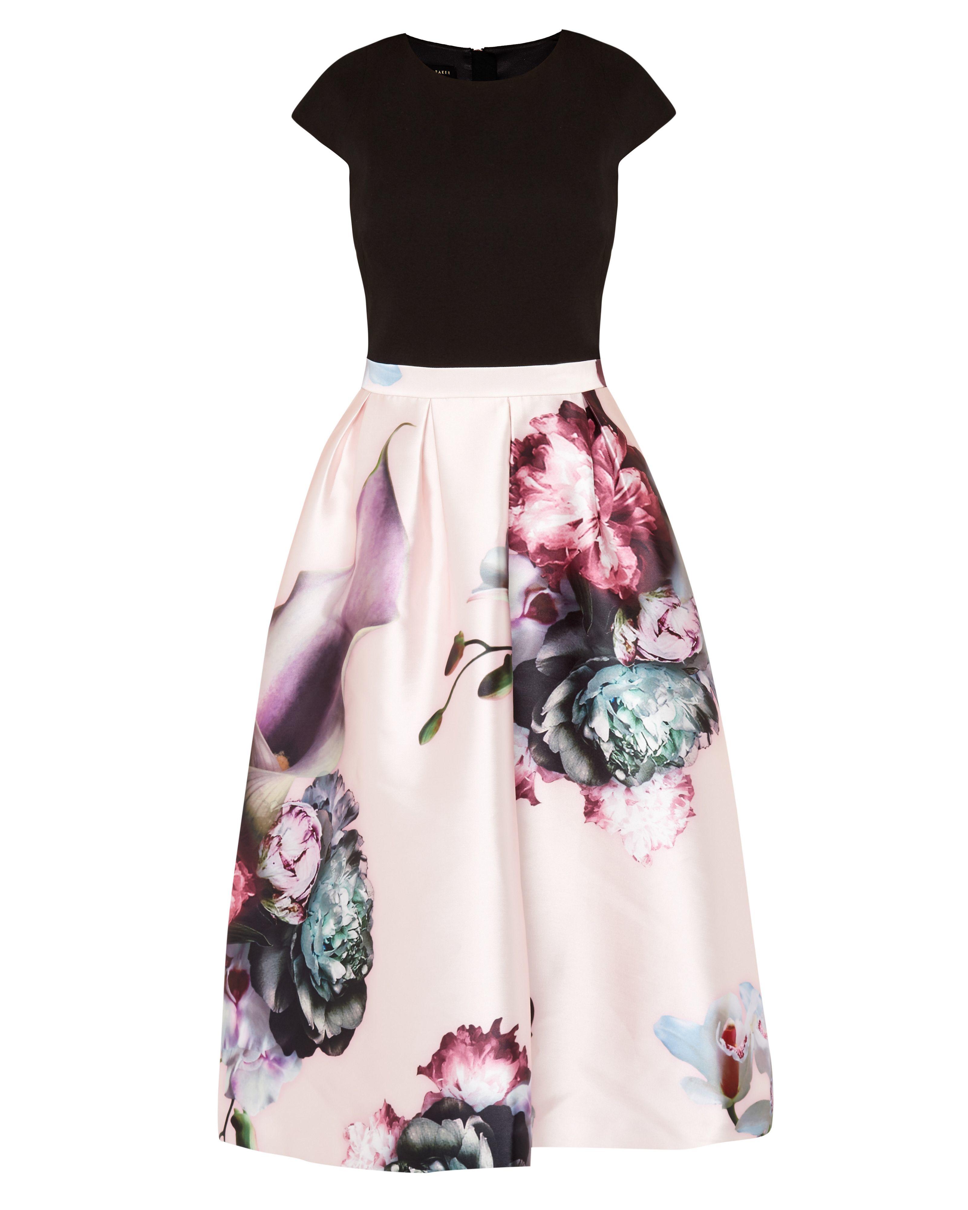 Ted baker Carsyn Ethereal Posie Dress