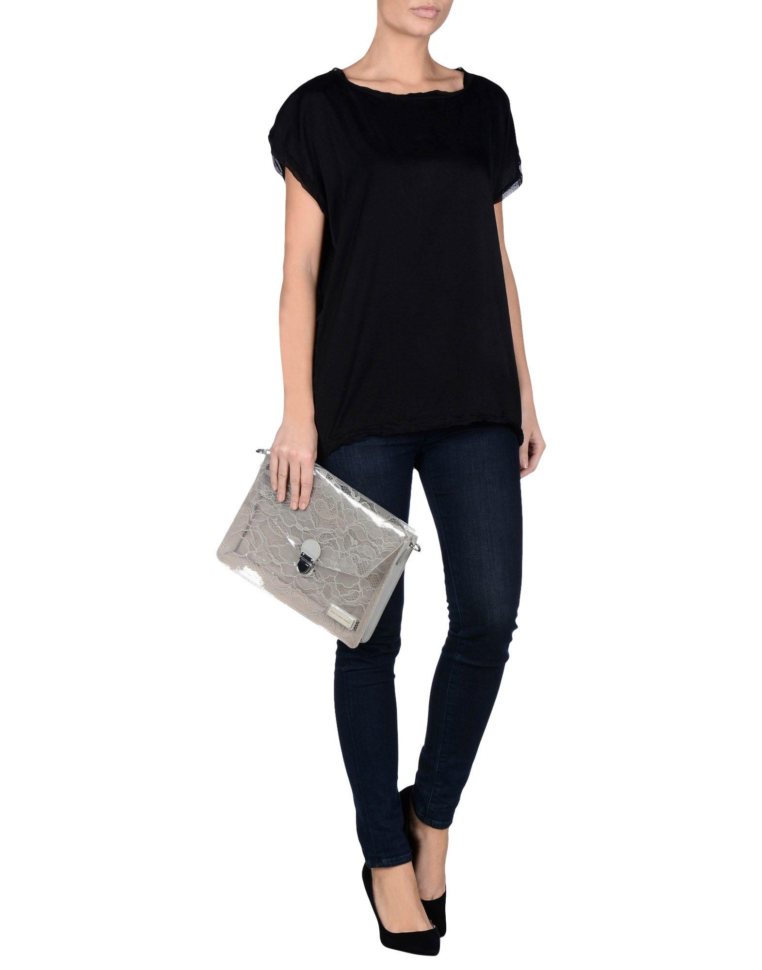 marc by marc jacobs handbag in gray lyst. Black Bedroom Furniture Sets. Home Design Ideas