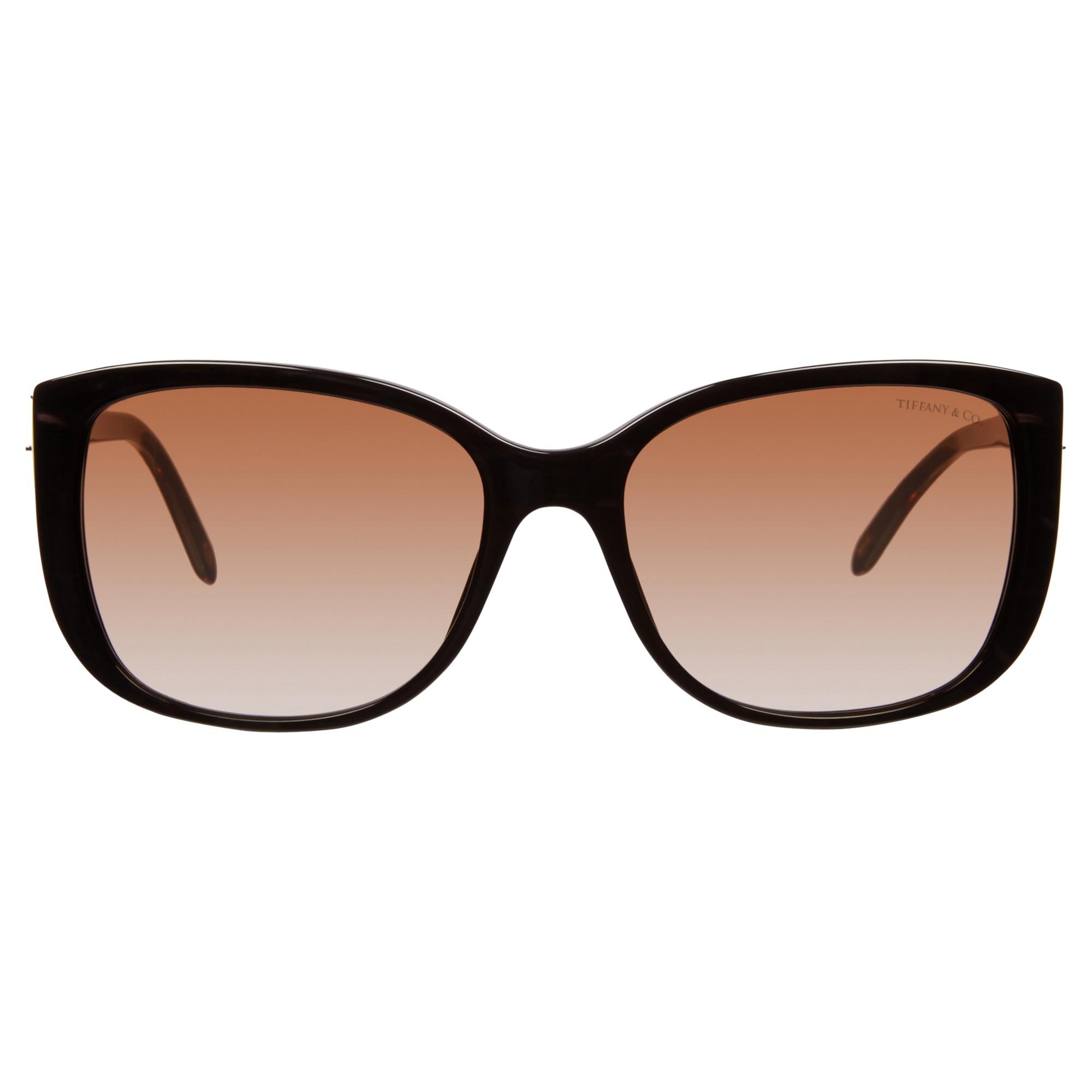 79fd378a6bf3 Tiffany   Co. Tf4090b Square Sunglasses in Brown - Lyst