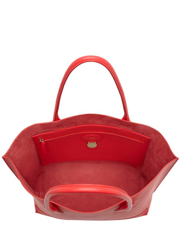 ... shopping mulberry blossom nappa leather tote bag in red lyst 1056a  c31b7 ... deb6988760eac