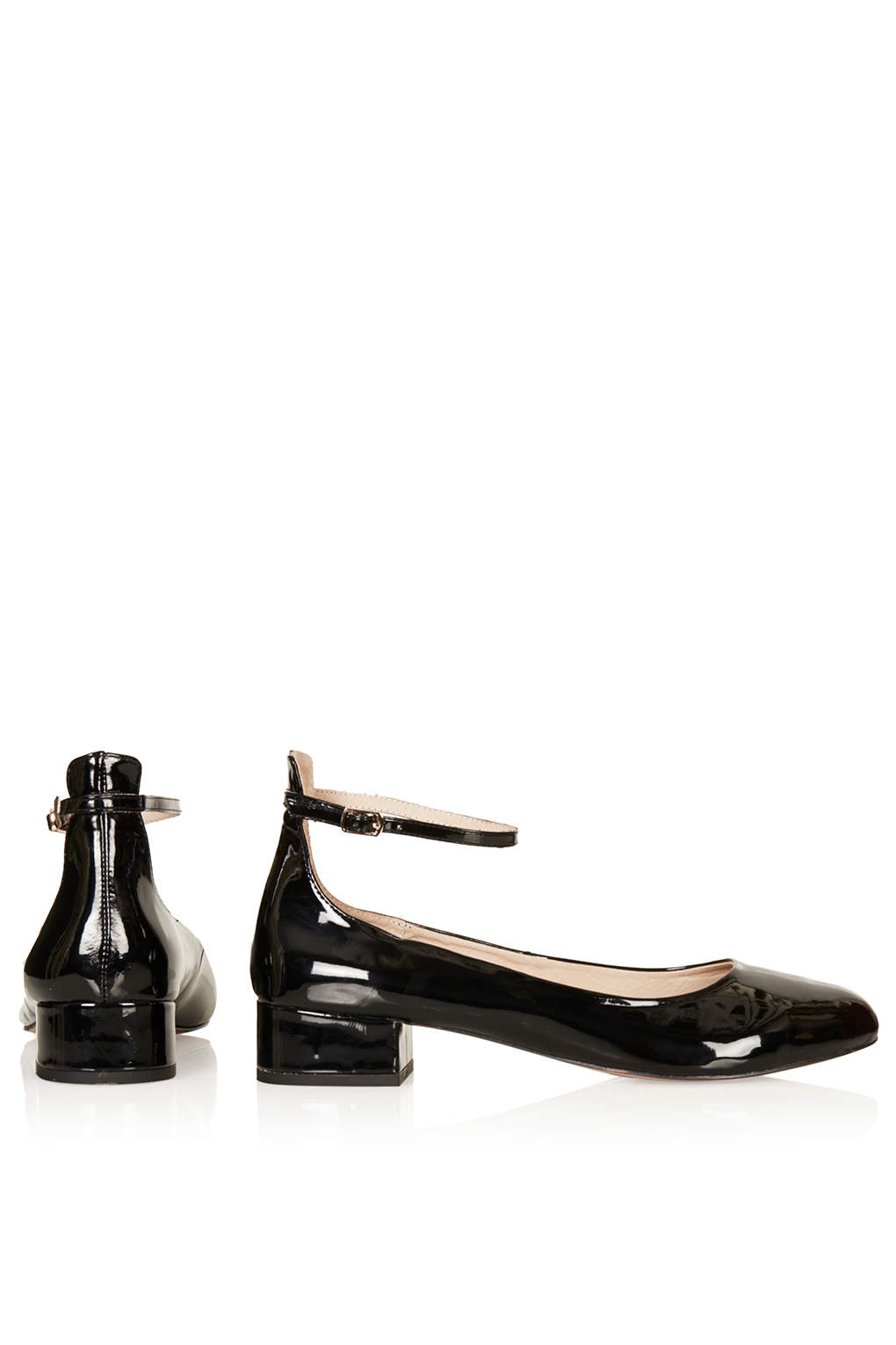 Black Dolly Shoes River Island