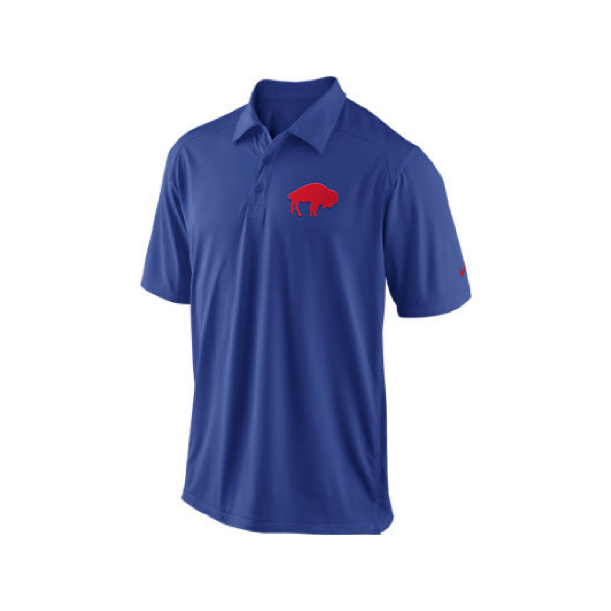 Lyst nike mens buffalo bills football coaches polo in for Buffalo bills polo shirts