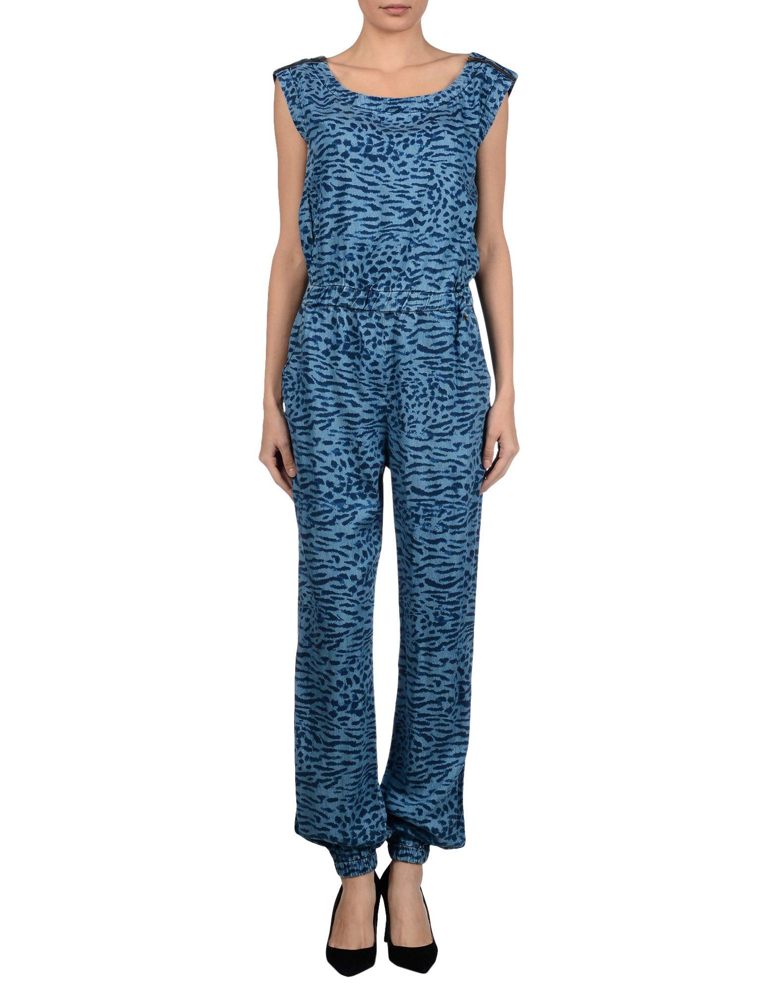 e4743147778 Lyst - Hilfiger Denim Jumpsuit in Blue