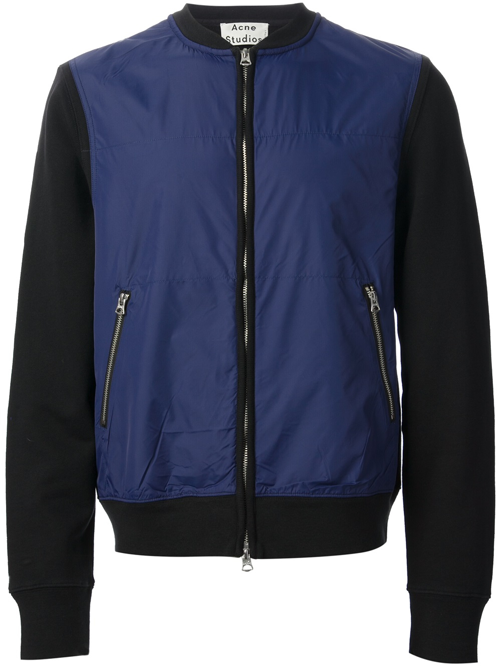 Lyst Acne Studios Keanu Bomber Jacket In Blue For Men