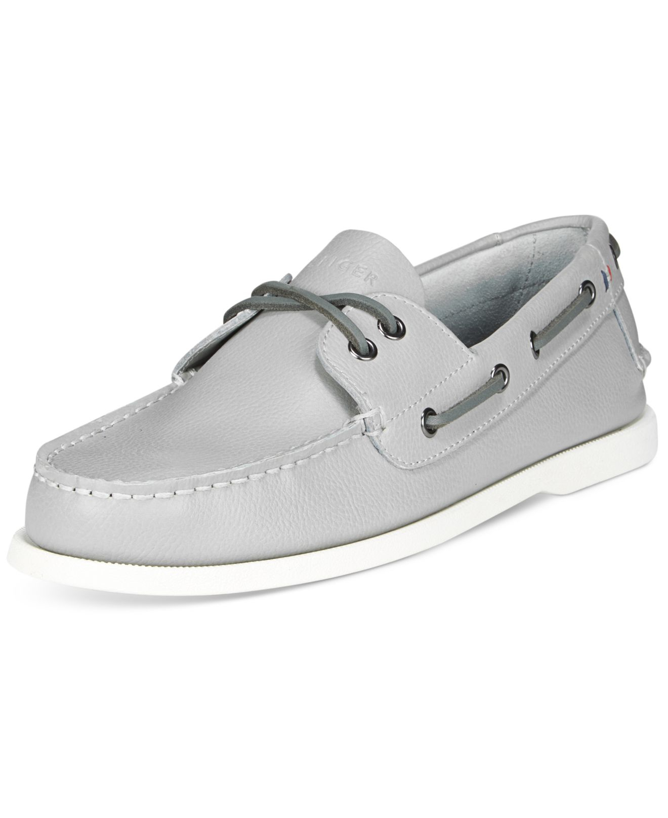 2e4e316f1 Lyst - Tommy Hilfiger Men s Bowman Boat Shoes in Gray for Men