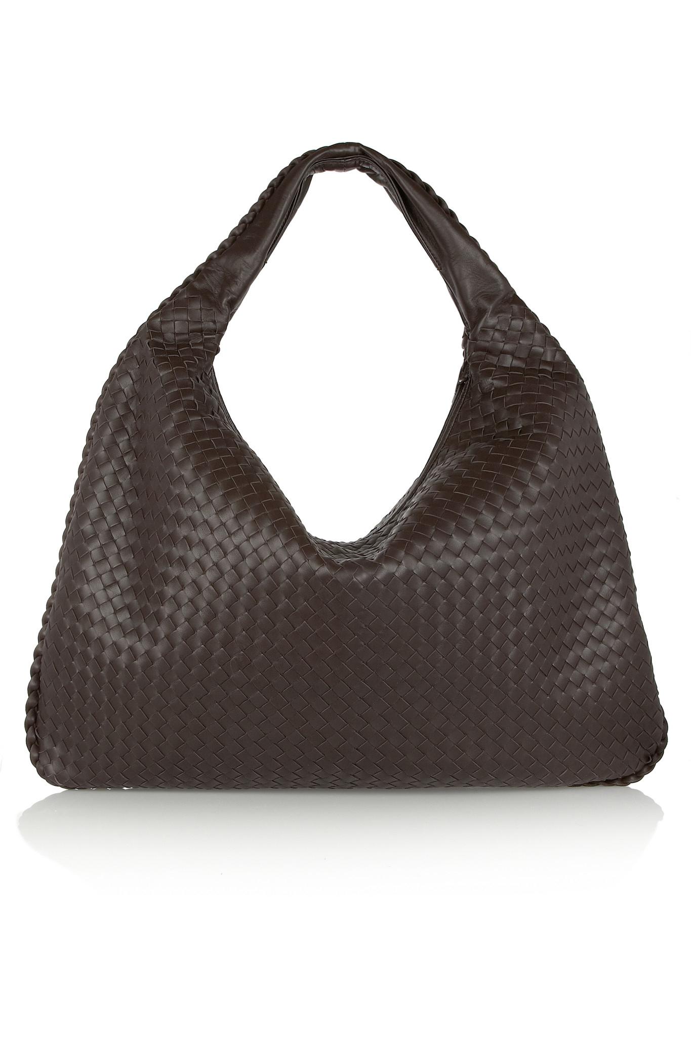 25d837d7d378 bottega veneta outlet online - Bottega veneta Maxi Veneta Intrecciato  Leather Shoulder Bag in .