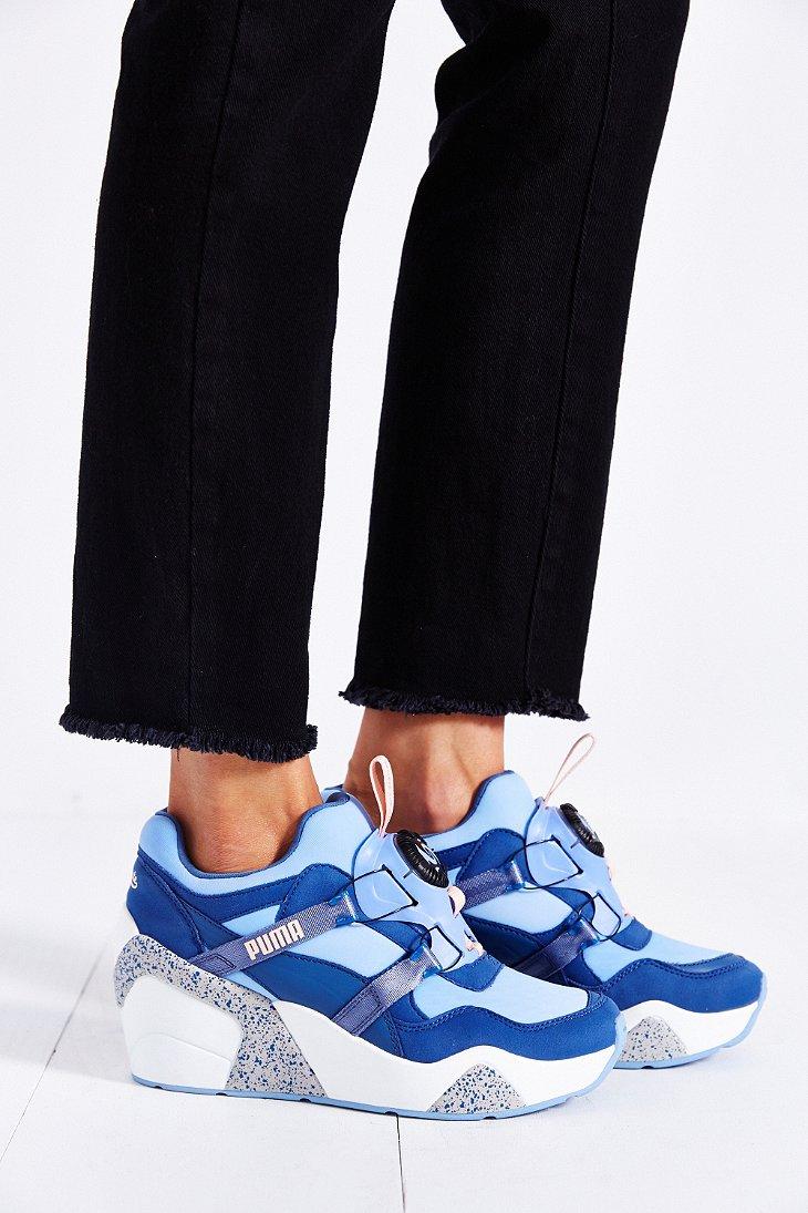 Lyst - PUMA X Sophia Chang Trinomic Wedge Sneaker in Blue