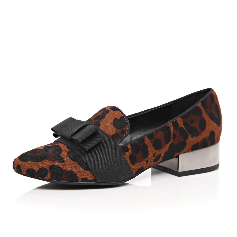 River Island Leopard Flat Shoes