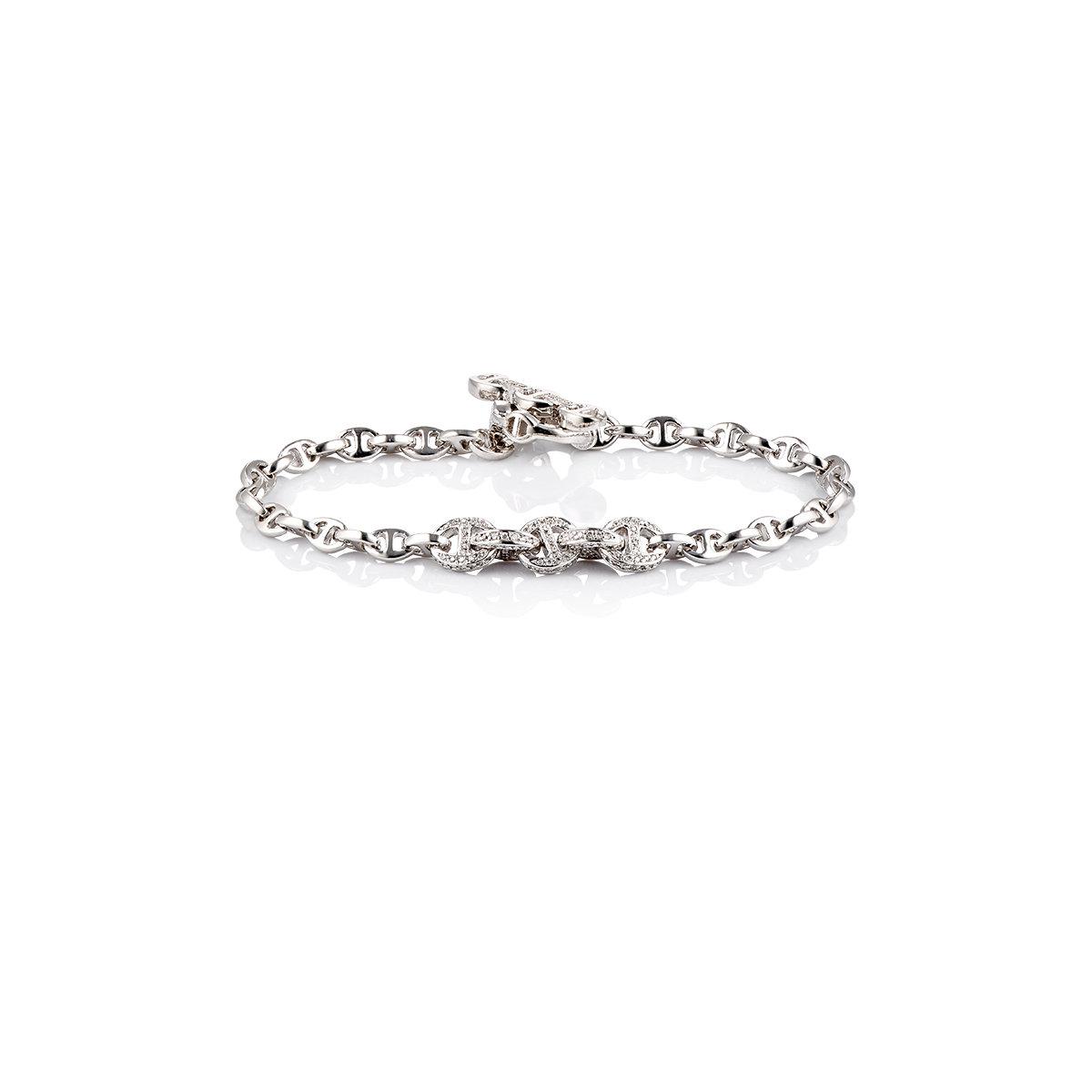 Hoorsenbuhs Womens Tri-Link-Chain Bracelet 7eacBv