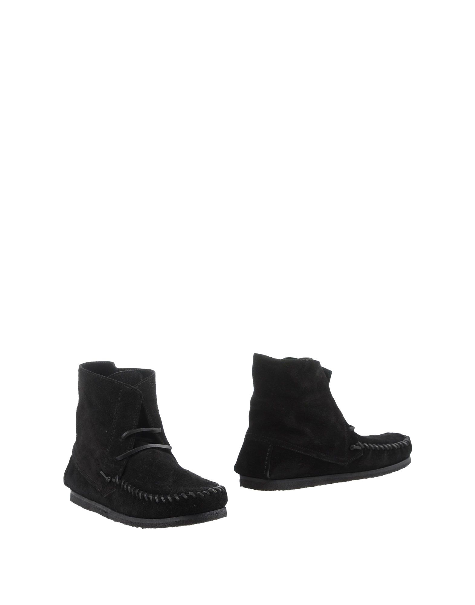 isabel marant lace up suede ankle boots in black lyst. Black Bedroom Furniture Sets. Home Design Ideas