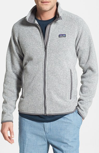 Patagonia Better Sweater Jacket In Gray For Men