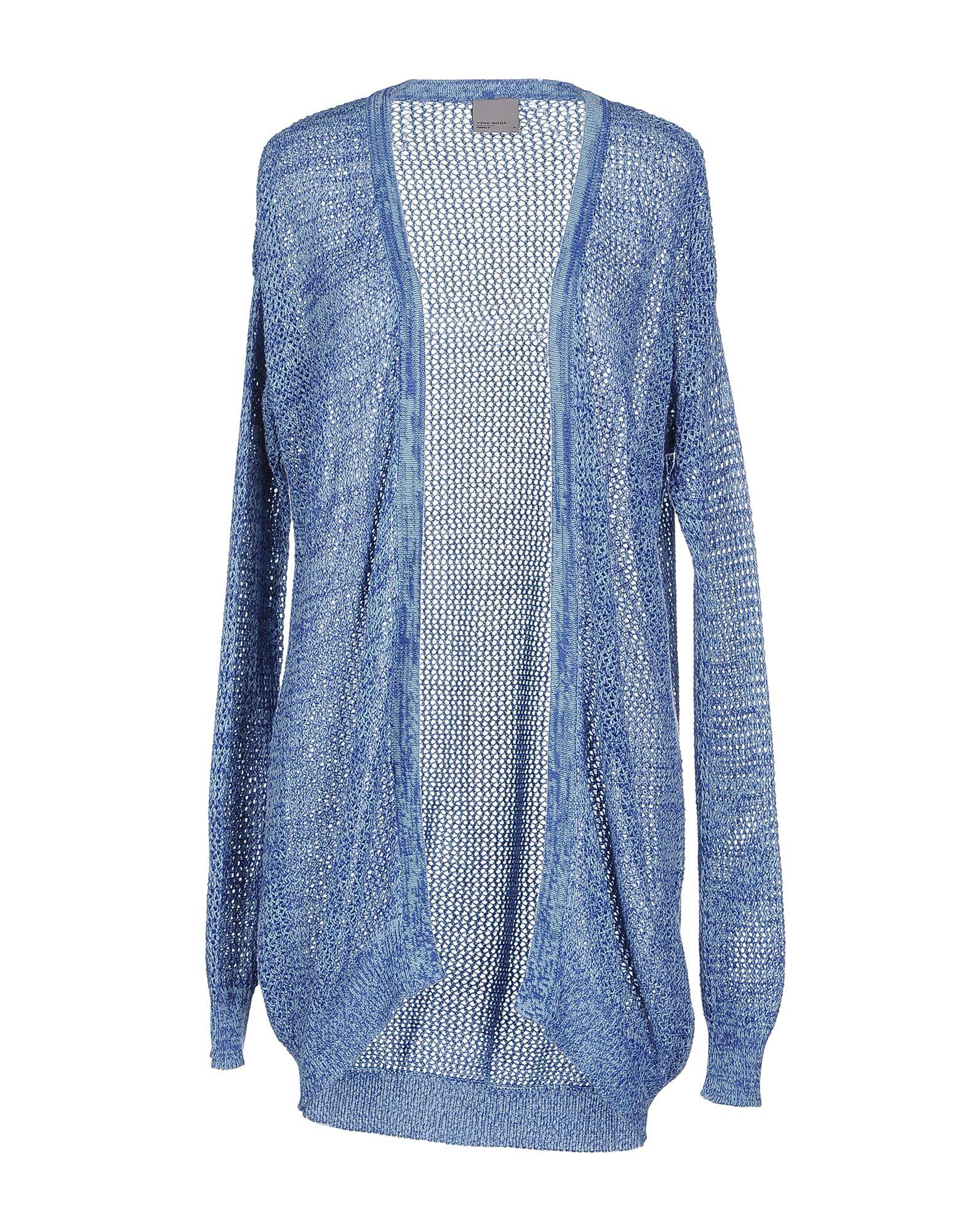 Vero Moda Knitting Patterns : Lyst vero moda cardigan in blue