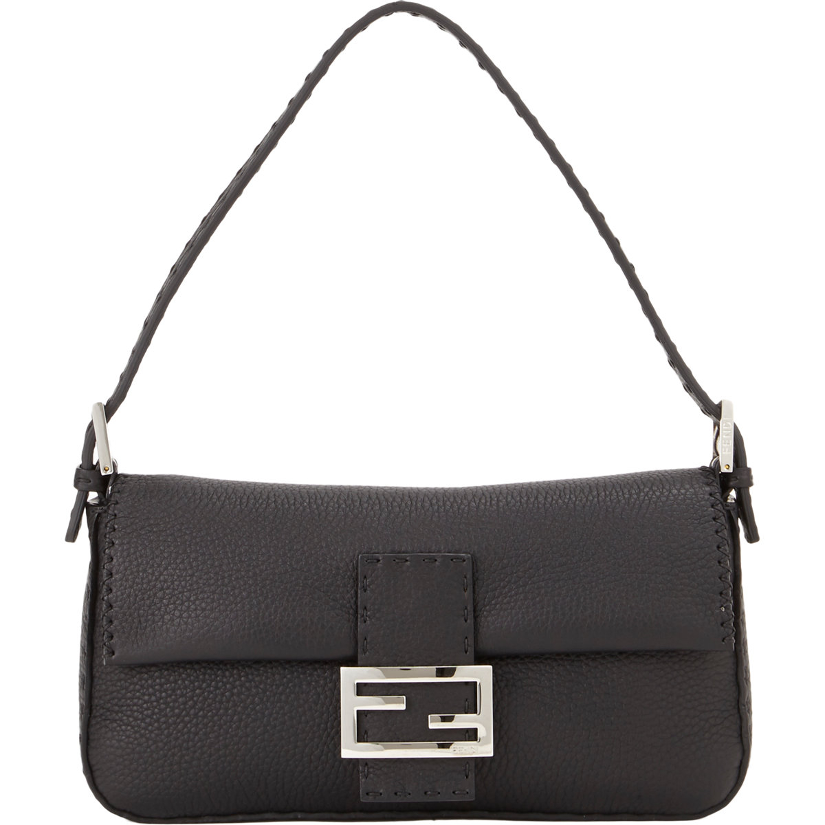 Lyst - Fendi Selleria Baguette Bag in Black 66df4462b9f64