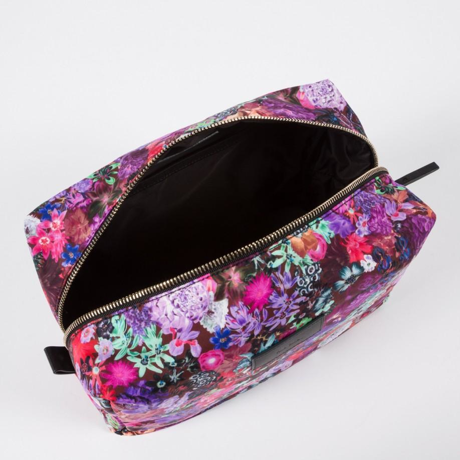 d916a8af1c4e Paul Smith Women's Floral Print Wash Bag - Lyst