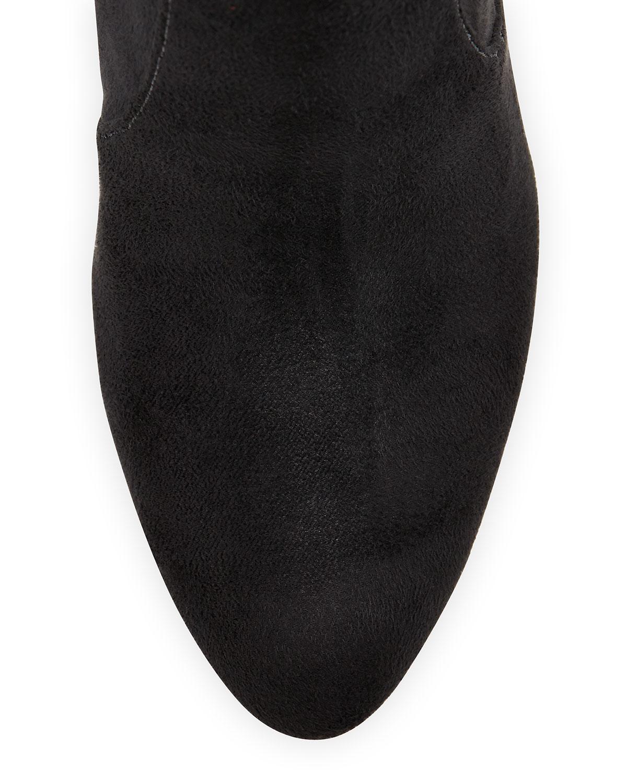 Ivanka trump Sennet Suede Boot in Black | Lyst