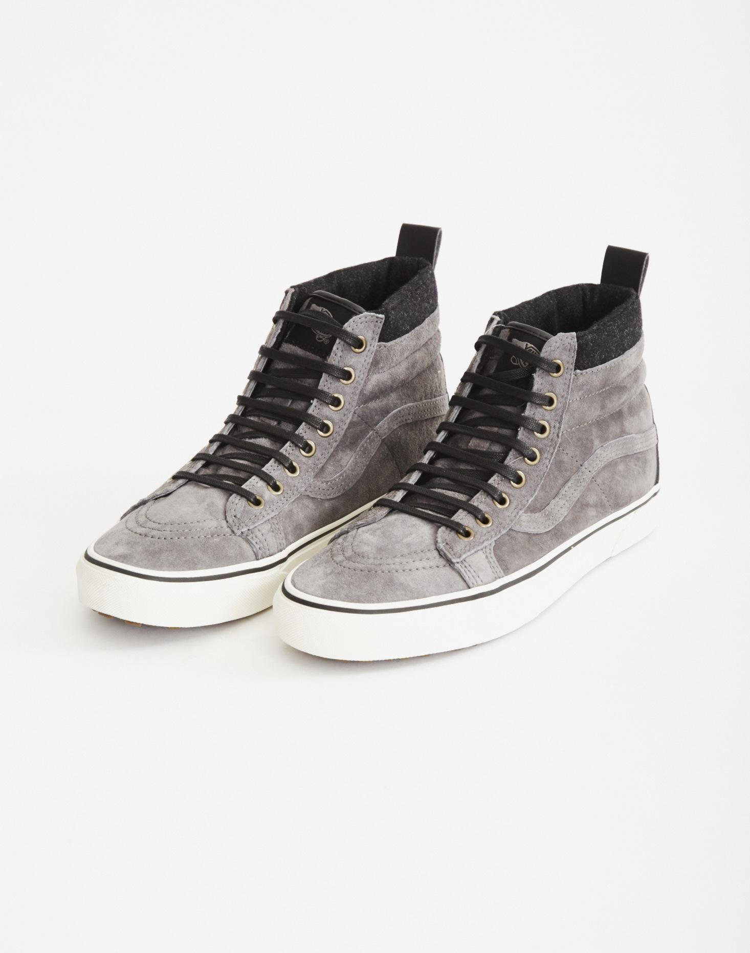 90af51432b57 Vans Sk8-hi Mte Grey in Gray for Men - Lyst