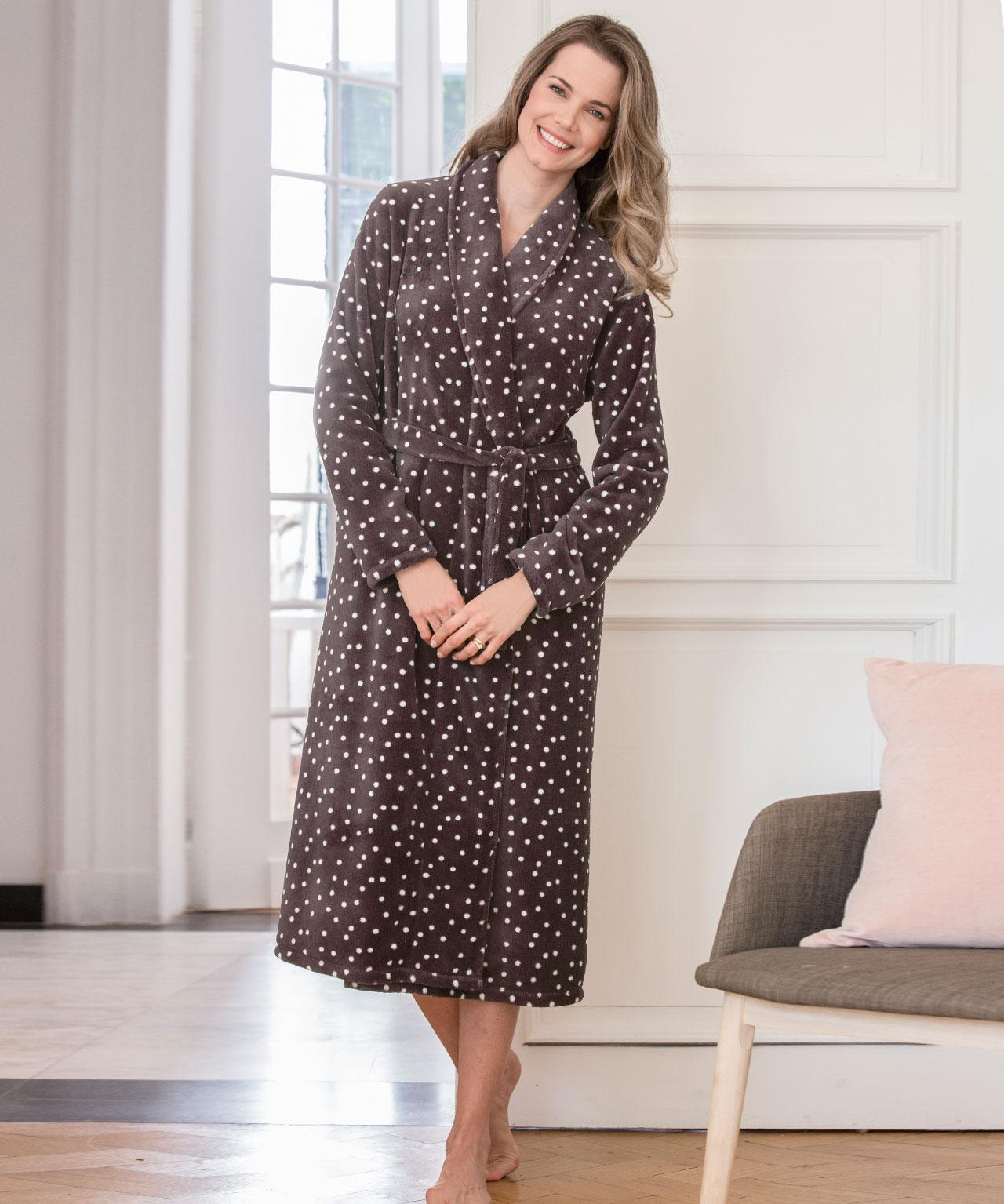 Gallery. Previously sold at  Damart · Women s Fluffy Dressing Gowns ... df899d923