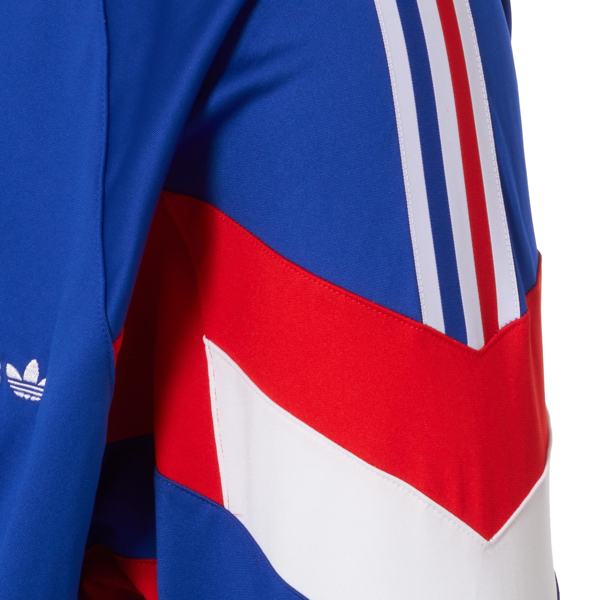 6ef450dc7b23 Lyst - Adidas Originals Aloxe Track Top - Bold Blue   White in Blue ...