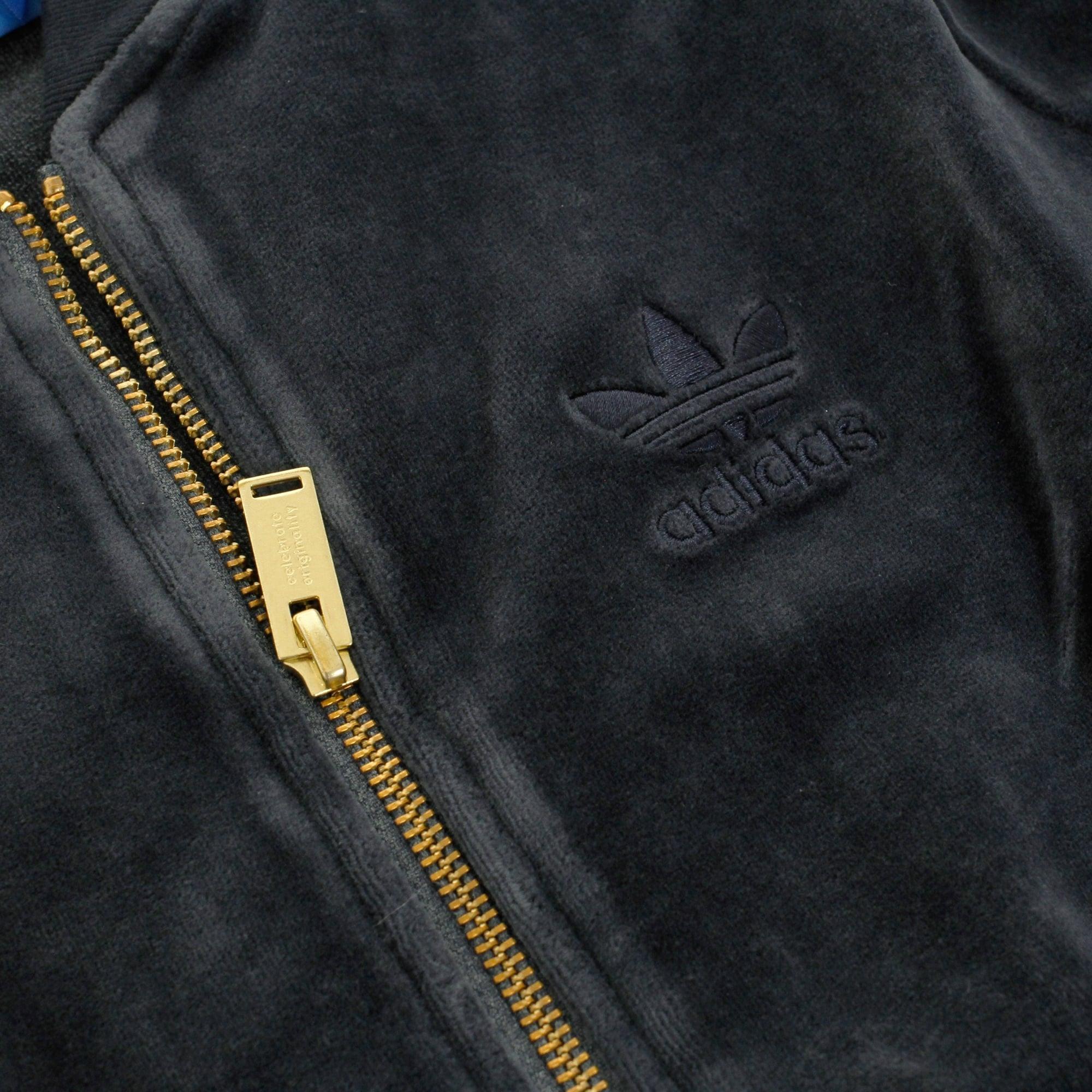 adidas Originals Cotton Beckenbauer Velour Legend Ink Track