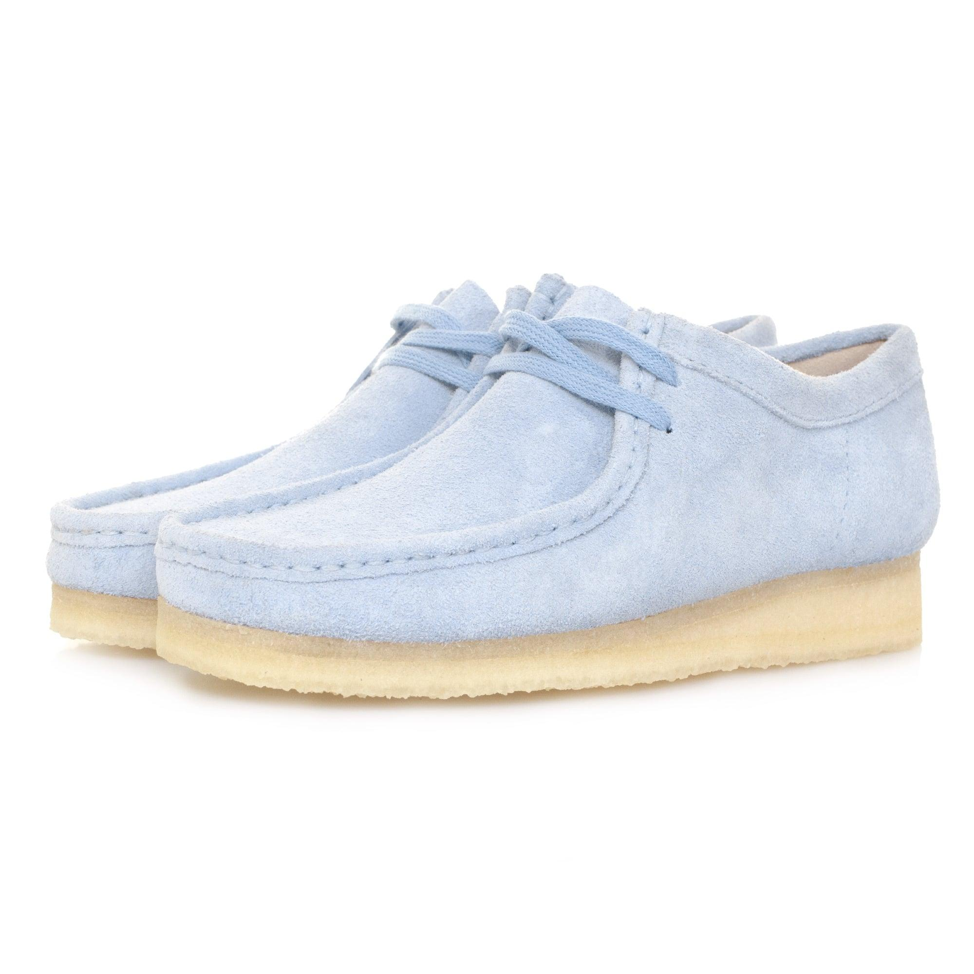 Clarks Womens Suede Lace Up Shoes