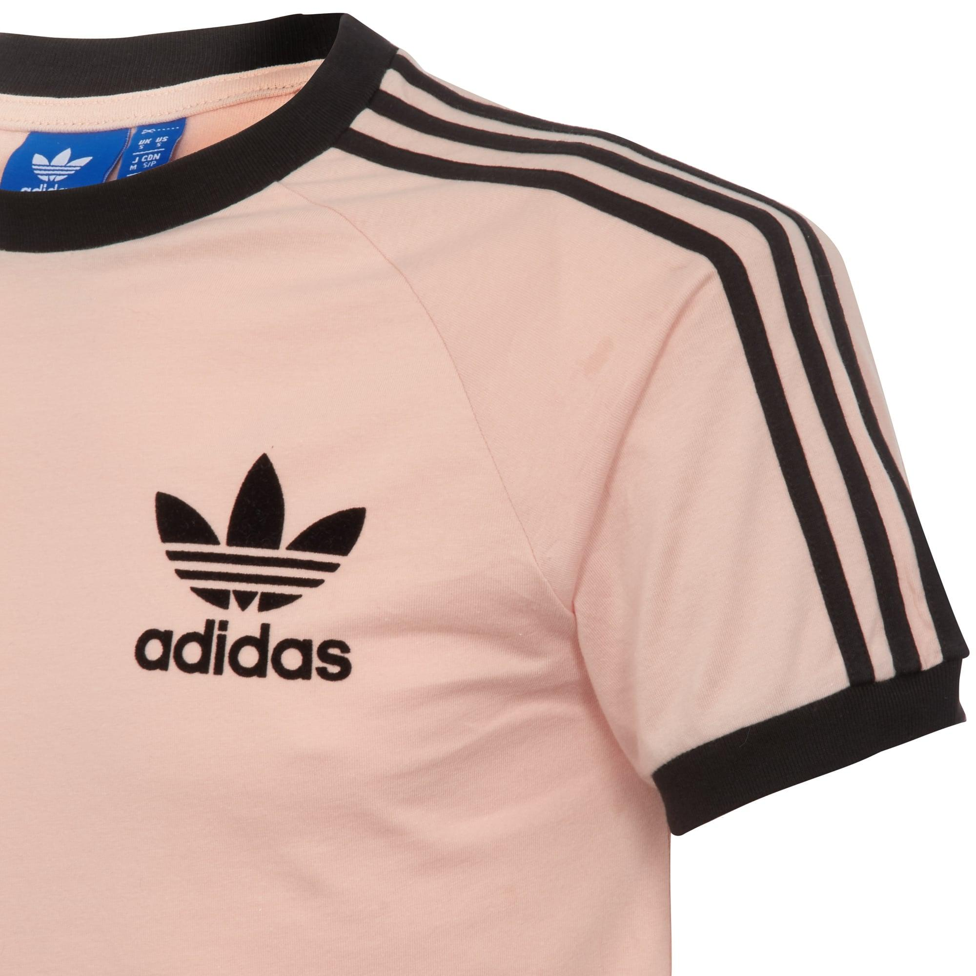 picked up sale online super quality Adidas Originals California T Shirt Vapour Pink   Toffee Art