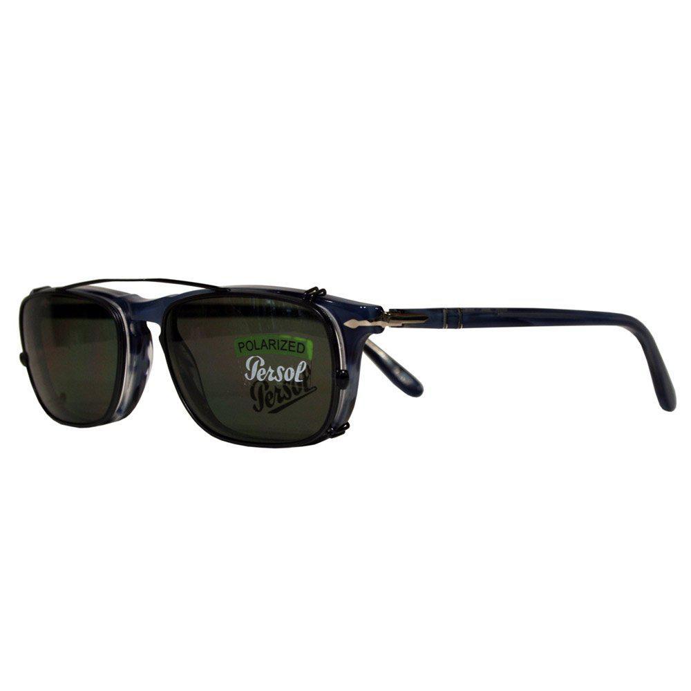 85808646a69 Lyst - Persol Po3031 Blue Polarized Sunglasses in Blue for Men