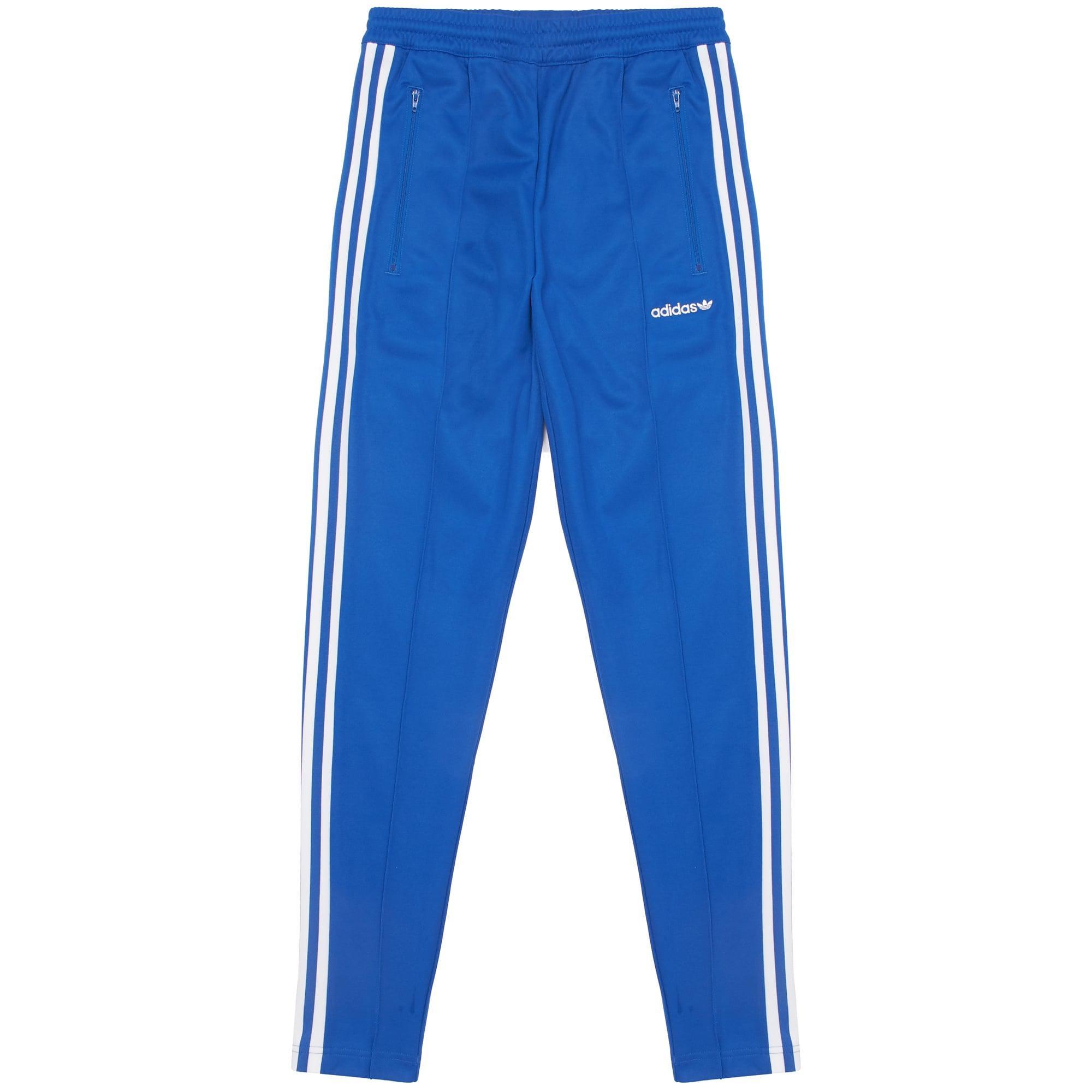 4bd0f52ac703 Lyst - adidas Originals Beckenbauer Open Hem Track Pants in Blue for Men