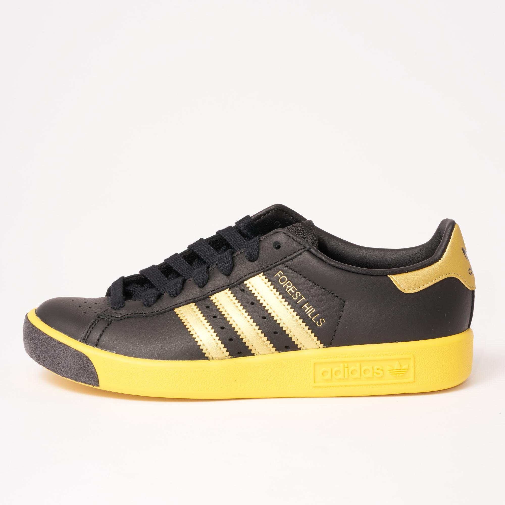 best sneakers f7c2c 3e53e Lyst - adidas Originals Forest Hills - Core Black  Gold for