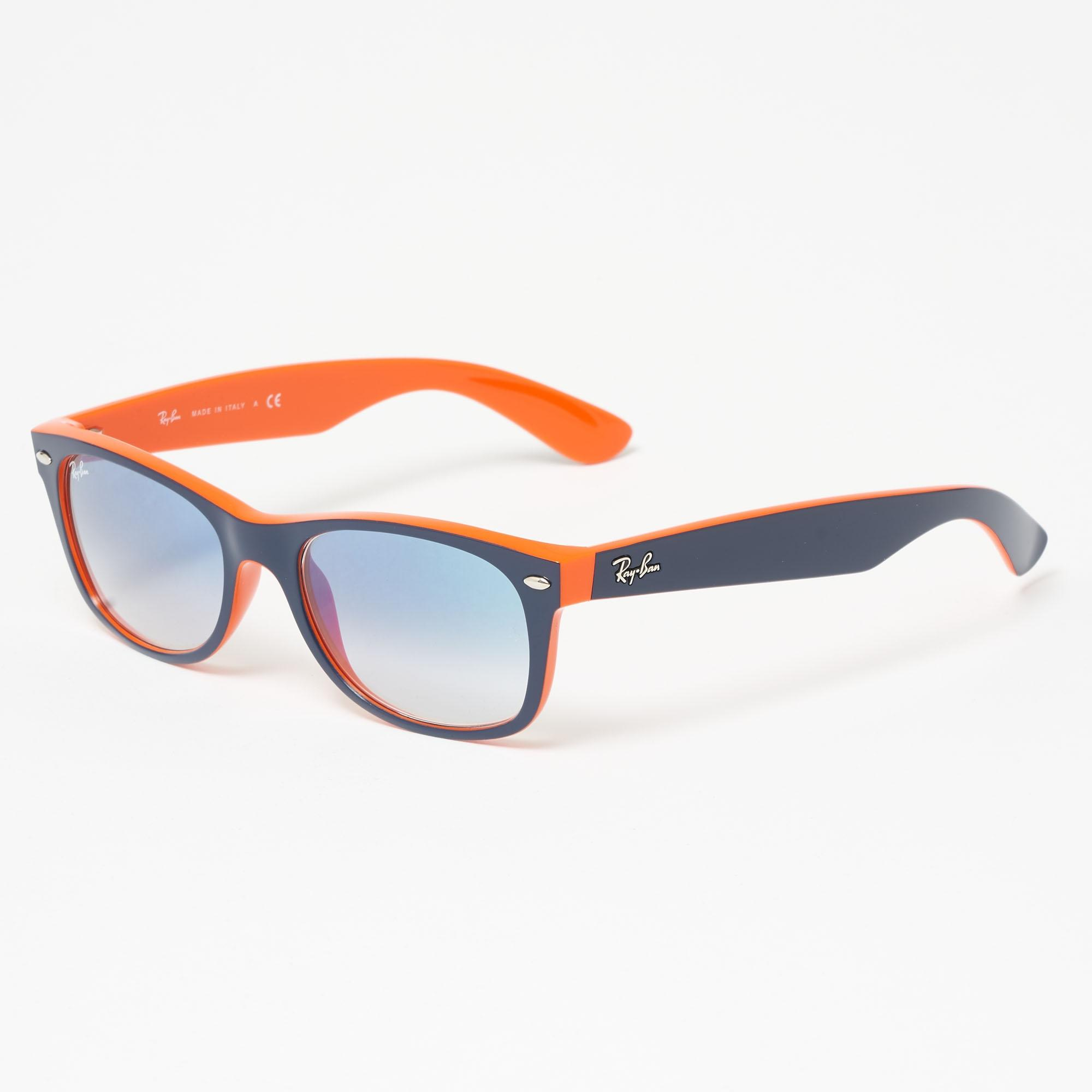 84bea650fd Ray-Ban. Women s New Wayfarer Colour Mix Blue Orange Sunglasses ...