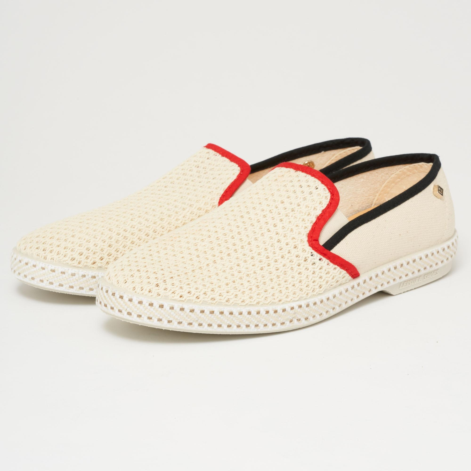 Classic 20 mesh and canvas loafers Rivieras qQsIwTSP7