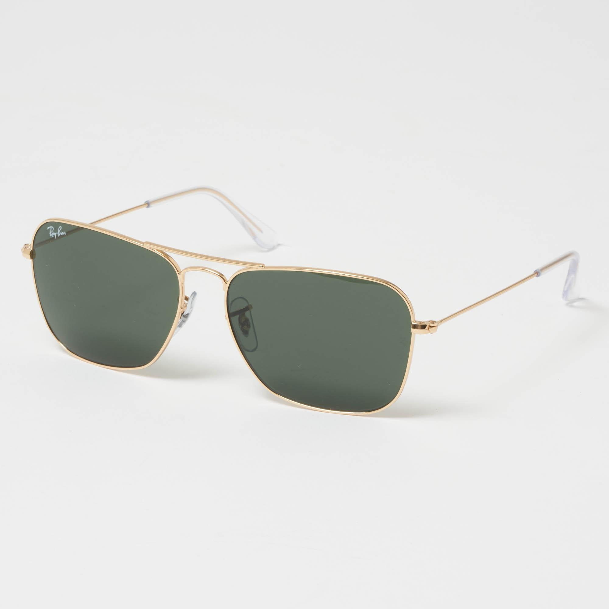 9f47dc2a1f Lyst - Ray-Ban Caravan Sunglasses - Green Classic G-15 Lenses in ...