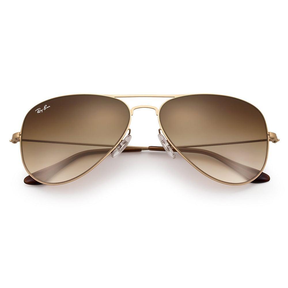 eebf4b17a81 Lyst - Ray-Ban Ray-Ban Aviator Flat Gold Sunglasses Rb3513 149 13 in ...