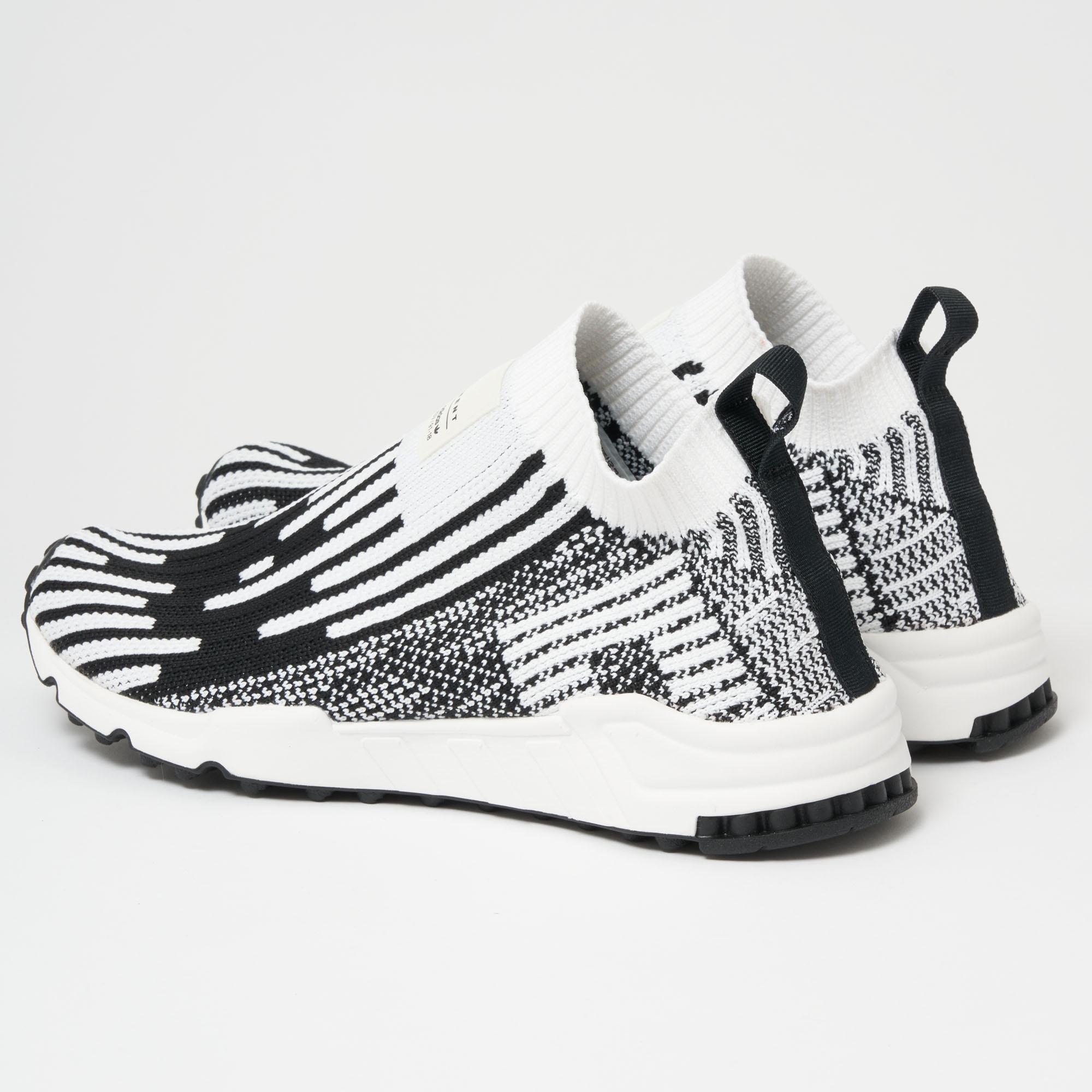 hot sales 6d937 06213 Lyst - adidas Originals Eqt Support Sock Primeknit - Ftwr Wh