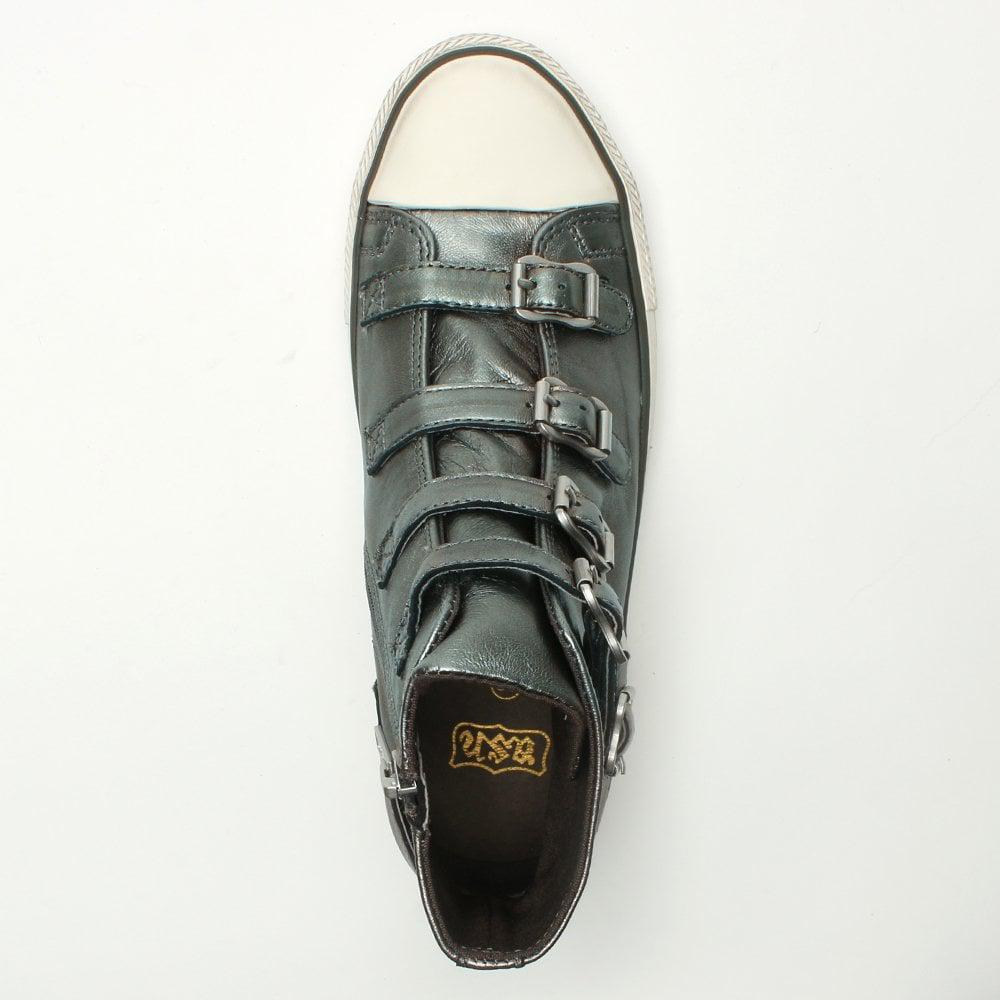 9869ca9767f4 Ash - Multicolor Virgin Bis Moon Stone Leather Buckled High Top Trainers -  Lyst. View fullscreen