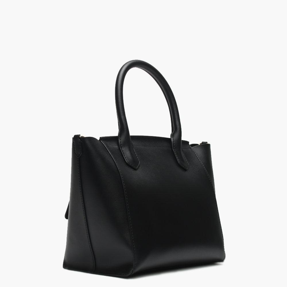 9af7f7b18 Emporio Armani - Small Borsa Black Top Handle Tote Bag - Lyst. View  fullscreen